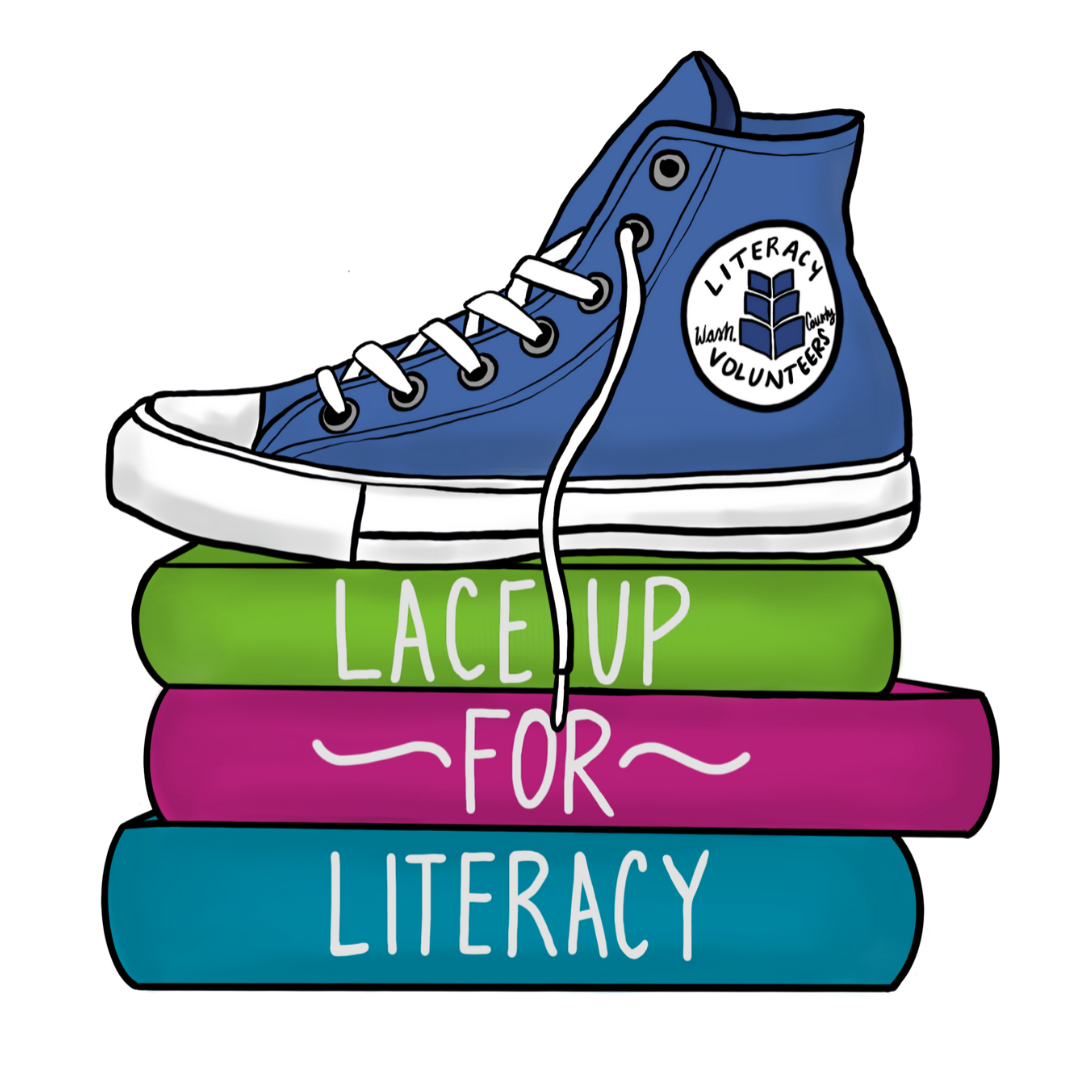 Lace Up for Literacy Logo