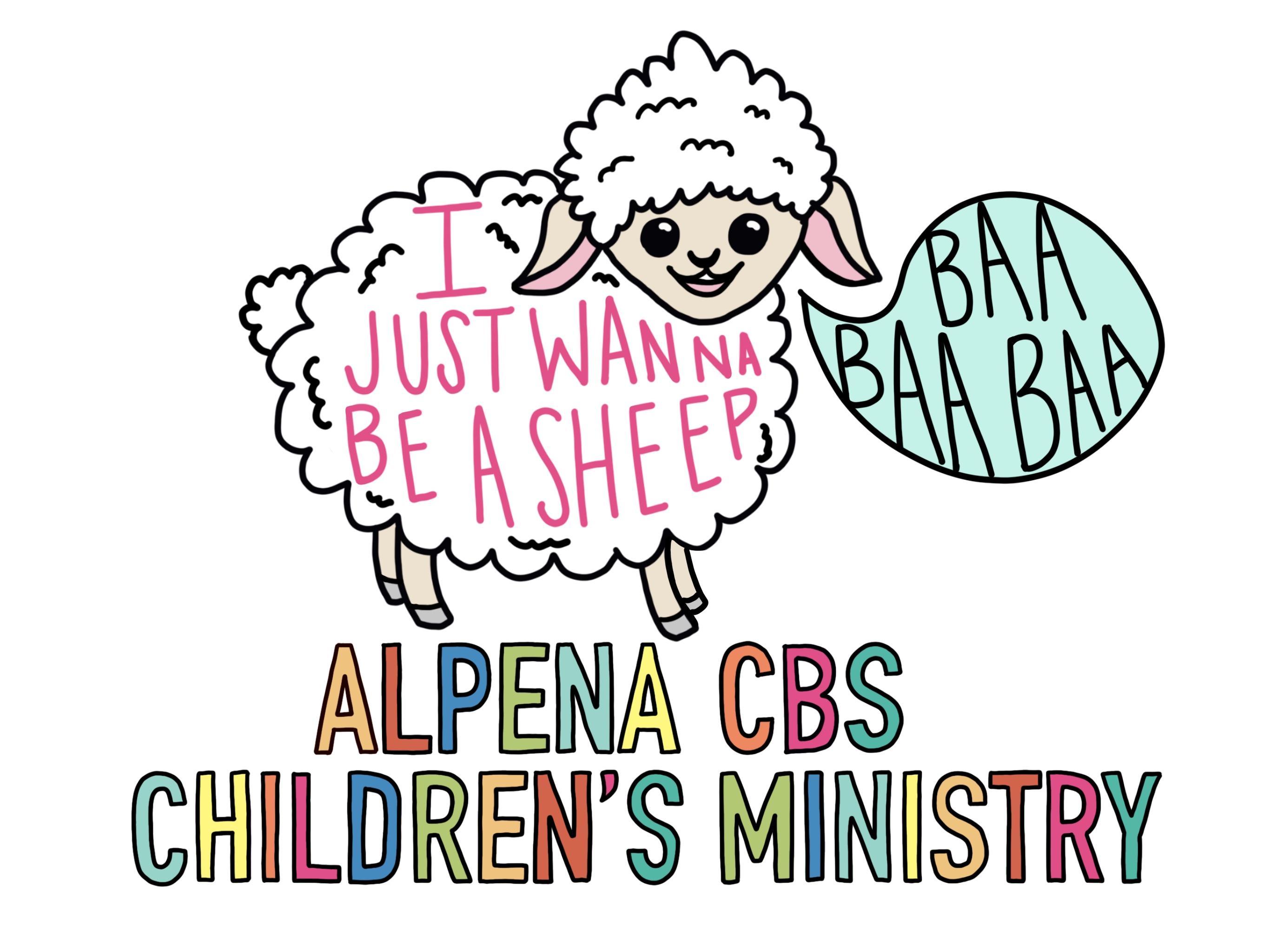 Alpena CBS Children's Ministry Logo